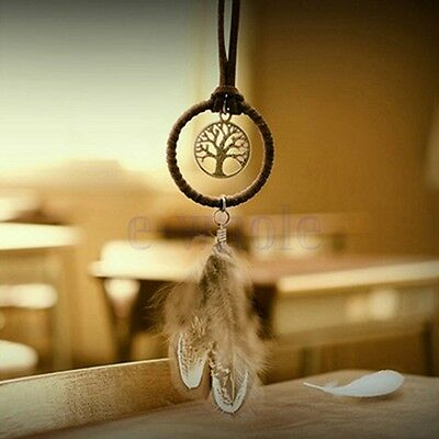 Unique Indian Dream Catcher Key Ring Bag Hanging Pendant Anniversary Gift New HM