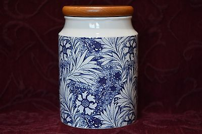 Dunoon Stoneware Canister - Bloomsbury, William Morris Design. Scotland