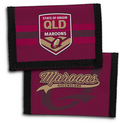Queensland State of Origin NRL Team Sports Wallet