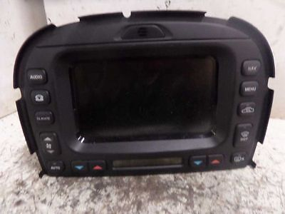 Info-Gps-Tv Screen Display Non-Heated Windshield Fits 03-08 S Type 216869