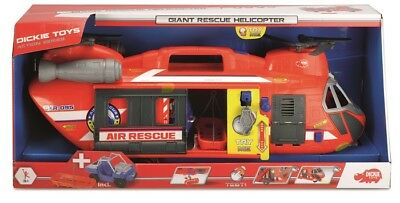 DICKIE 203309000 - ACTION SERIE - GIANT RESCUE HELICOPTER (ca.56cm) - NEU