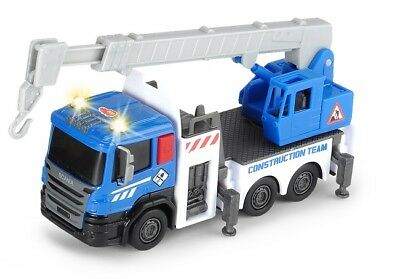 DICKIE 203722004 - CONSTRUCTION CITY BUILDER - KRANWAGEN (ca. 15cm) - NEU