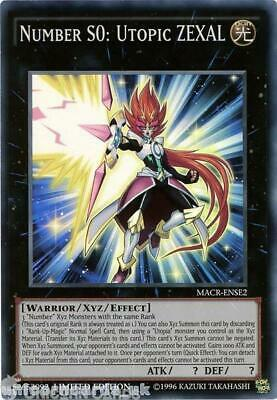 MACR-ENSE2 Number S0: Utopic ZEXAL Super Rare Limited Edition Mint YuGiOh Card!