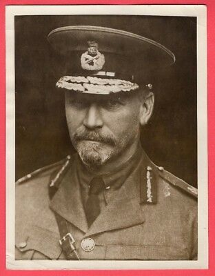 1918 General Smuts Hero of Boar War to Visit President Wilson Orig. News Photo