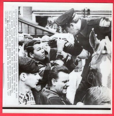 1966 Anti-Vietnam War Protestors Boston Massachusetts Original News Wirephoto