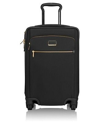 Tumi Sam International Expandable 4 Wheeled Carry-On Luggage 73760 BLACK $695