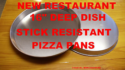 16 Inch Deep Dish Pizza Pan Commercial Restaurant Quality * See Recipes Below