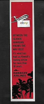 Hawaiian Airlines 1969 Dc-9 Jets Between Islands Leading Airline 38 Yrs Ad