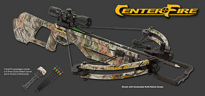 NEW Parker Centerfire Crossbow Package 335 FPS X211-MR