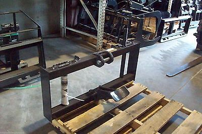 McMillen X Series Skid Steer Mounting Bracket & Cradle, Fits X1475, X1975, X2475