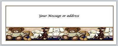 30 Personalized Primitive Country Return Address Labels Buy3 get1 free (bo 250)