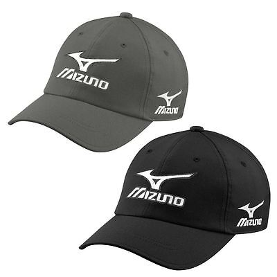 ** 40% OFF RRP ** Mizuno 2017 Golf Mens Tour Cap Adjustable Performance Hat