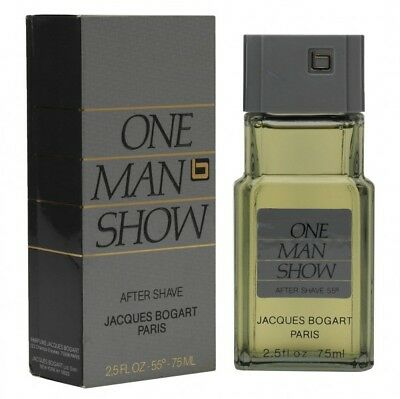 Jacques Bogart  One Man Show 75 ml After Shave old vintage Version