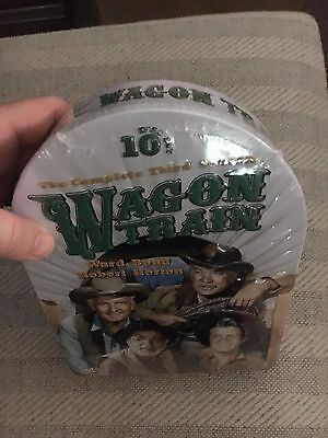 Wagon Train: The Complete Third Season 3 TV (DVD 10-Disc Set, Tin Case) **NEW***