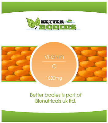 Better Bodies Vitamin C 1000mg with Rosehip & Bioflavonoids Tablets