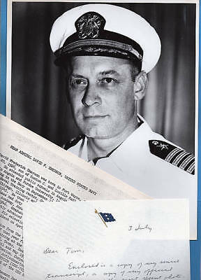 1972 Rear Admiral David F. Emerson Original Photo Documents