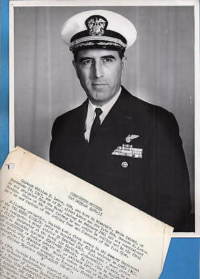 1962 Captain William Lemos USS Okinawa Original Photo Documents