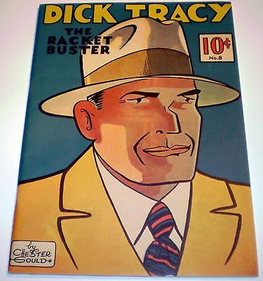 1982 DICK TRACY Racket Buster #8 Chicago Tribune 1937 Reprint Chester Gould