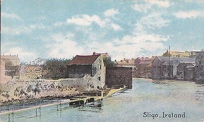 tr irish postcard ireland sligo