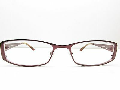 0e8223d54ca6 Jill Stuart JS005-6 Purple Rectangular EYEGLASSES FRAMES 50-17-135 TV6 20916