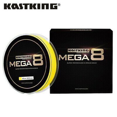 KastKing Mega 8 Braided Fishing Line 274m 8 Strands Superline Carp Fishing Line