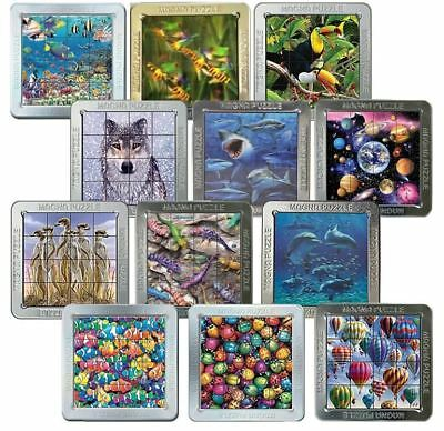 Cheatwell Games 3D Magna Magnetic Animal Puzzle Portrait