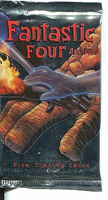 Marvel Fantastic Four Archives  Factory Sealed Hobby Packet / Pack