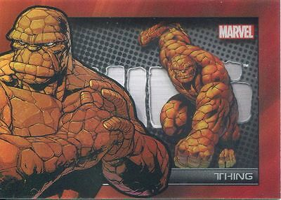 Marvel Universe 2014 Shadowbox Chase Card S10 The Thing