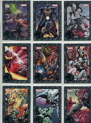 Marvel Universe 2014 Complete Greatest Battles Thor Expansion Chase Set #91-99
