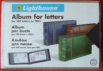 LIGHTHOUSE First Day Cover ALBUM + SLIPCASE - 50 Double Sided Pages - 100 Covers