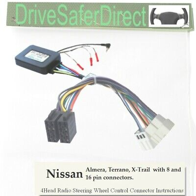 ANAlogz-SWC-5231-01 Stalk Control for ISO Radio/Nissan X-Trail T30 01-08