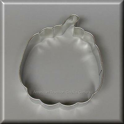 "4"" Pumpkin Metal Cookie Cutter Harvest Thanksgiving Halloween #na3035"
