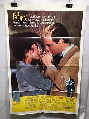 """Original 1979 """"The Promise"""" 1 Sheet Movie Poster 27x 41"""" Stephen Collins"""