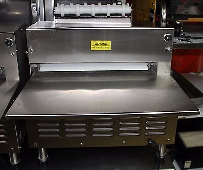 """used Somerset model CDR-2100 Dough Roller with 20"""" synthetic rollers"""