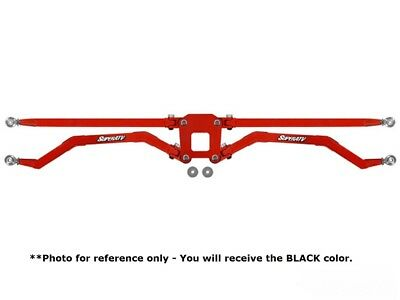 Polaris RZR 1000 High Clearance Boxed Rear Suspension Links Black | 18mm