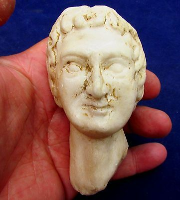 Outstanding Roman Marble BUST of Emperor  2nd-3rd Century AD  (2571-)