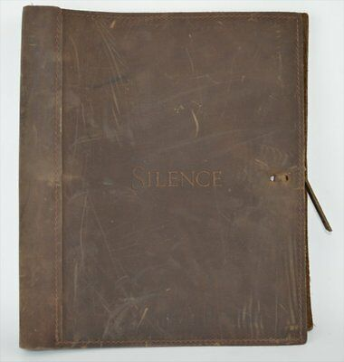 FYC Silence Screenplay Script Autographed Signed by Martin Scorsese