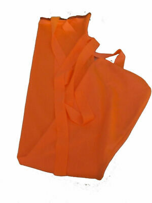 Orange rugless lycra tail bag  Ecotak