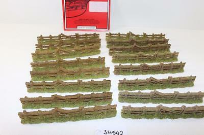 "16 x Javis OO 1:76 Rough Country Fencing With gate PF2 ""New"" FNQHobbys SW542"