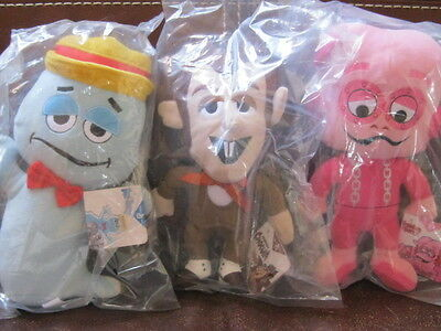 General Mills Berry Gang Lot Boo Berry Franken Berry & Count Chocula New