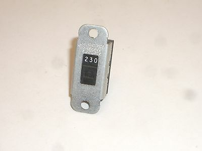 Switchcraft 46206LFR DPDT ON-ON POWER SLIDE SWITCH 125/250VAC MARKING 1PC