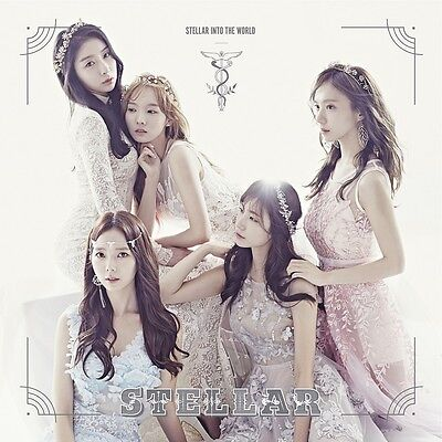 STELLAR - Stellar Into the World (3rd Mini Album) [Random Ver.] CD+Booklet