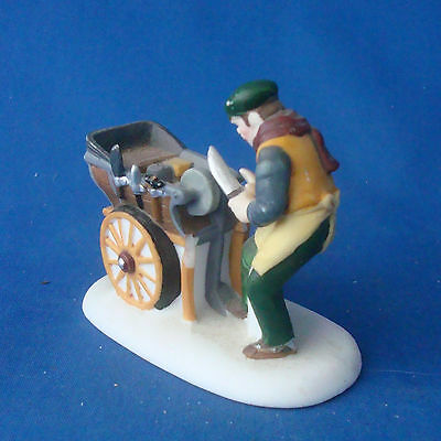 Dept 56 Knife Grinder 56499 handpainted porcelain accessory Christmas