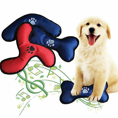 Durable Oxford Pet Dog Puppy Chew Sound Toy Squeaker Squeaky Training Toys