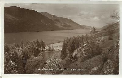 1940`s Postcard - THE CALEDONIAN CANAL, LOCH LOCHY, SCOTLAND