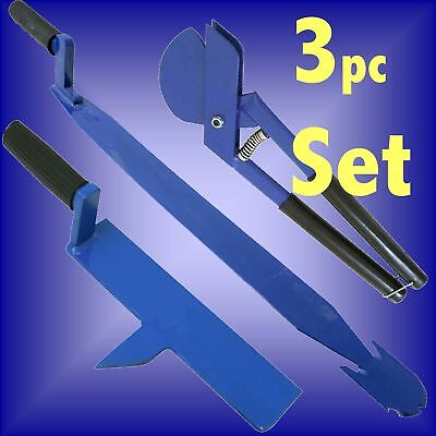 SLATER TOOL SET rip cutter axe slate nail ripper roofer