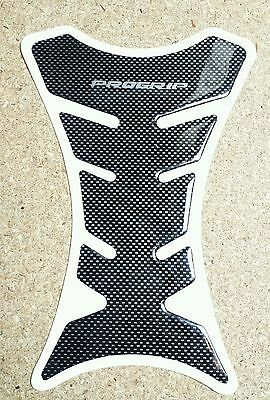 New Motorbike Tank Protector Carbon Fiber Type Sticker Scratch Pad Motorcycle
