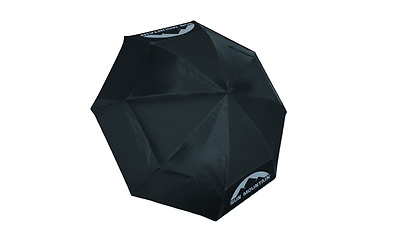 "Sun Mountain 62"" Auto Open Double Canopy Windproof Umbrella (Black)"