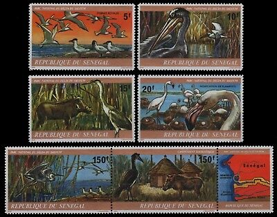 Senegal 1978 - Mi-Nr. 659-664 ** - MNH - Vögel / Birds