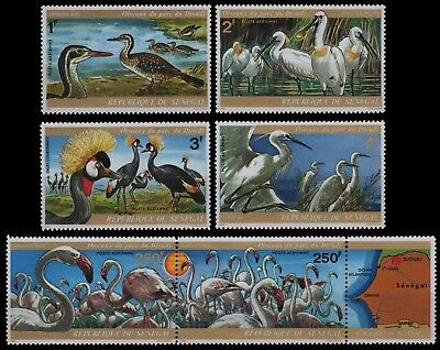 Senegal 1974 - Mi-Nr. 543-548 ** - Vögel / Birds